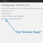 Install, Activate, Deactivate, Or Update a WordPress Plugin
