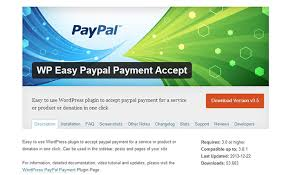 WP-Easy PayPal-Payment Accept