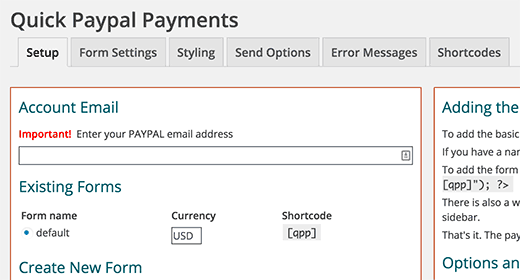 Quick PayPal-Payments